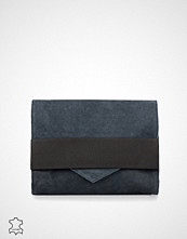 Pieces Meira Suede Clutch