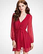 NLY Trend Rød Wrapped Dress