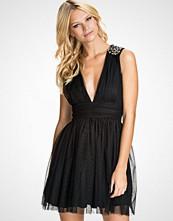 NLY Blush Beaded Shoulder Dress