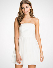 NLY Blush Mesh Bandeau Dress