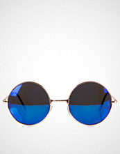NLY Accessories Blå Rounded Sunglasses