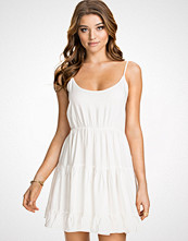 NLY Blush Ruffle Dress