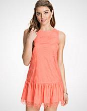 NLY Blush Frill Lace Dress
