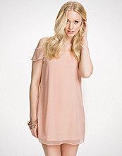 New Look Cold Shoulder Chiffon Tunic