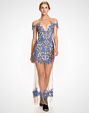 For Love & Lemons Nude Luau Maxi Dress