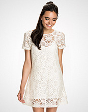 NLY Blush Laced T-Shirt Dress