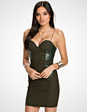 Rare London PU Panel Bodycon
