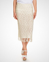 NLY Design Offwhite Knitted Skirt