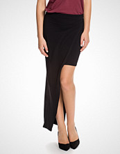 Miss Selfridge Asymmetric Split Maxi Skirt