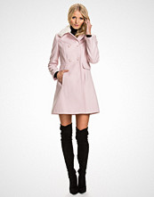 Miss Selfridge Faux Fur Collar Button Coat