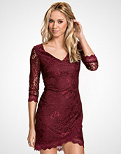 NLY ICONS Wine Lace Dress