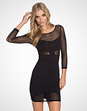 Quontum Panel Short Mesh Dress