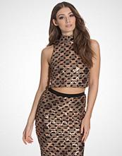 Glamorous Chain Sequin Top