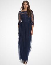 Chi Chi London Navy Saskia Dress