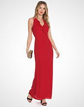 Elise Ryan Maxi Frill Dress