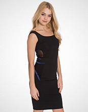Quontum Black Wrap Strap Vest Dress