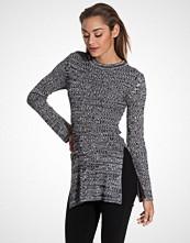 NLY Trend Grå melange Side Split Knit