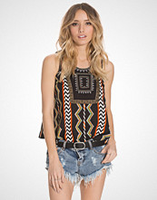 Glamorous Aztec Embroidered Top