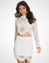 Glamorous Embroided Mini Skirt