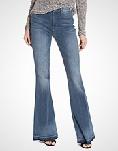 Only Raw Denim High Retro Flared Jeans