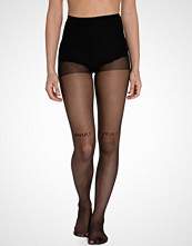 Pamela Mann What Ever Small Text Sheer Tights