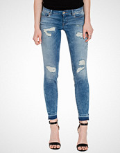 Only onlCARRIE LOW SK ANKLE DNM JEANS RE
