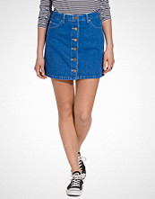 Miss Selfridge Bright Blue Denim Skirt