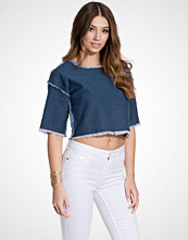 First And I FITAVAS DENIM TOP