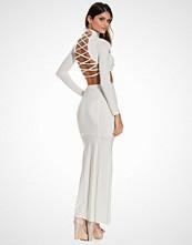 Club L Criss Cross Top & Fishtail Maxi Skirt