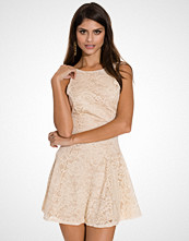 John Zack Flower Lace Skater Dress
