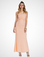 Elise Ryan Lace Back Maxi Dress
