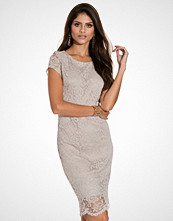 Selected Femme Lys grå Sfcharlotte Cap Lace Dress