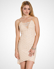 John Zack Strappy Sequin Bodycon