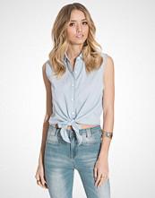 Glamorous Tie Up Mini Shirt