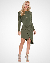 John Zack Asymmetric Side Dress