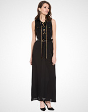 Michael Kors Lace Up Pkt Maxidress