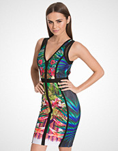 Wow Couture Printed Bandage Style Dress