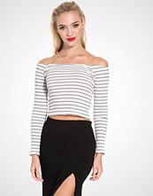 NLY Trend Off Shoulder Stripe Top
