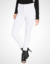 Miss Selfridge Steffi White Super High Waist Jeans