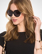 NLY Accessories Round Black Sunglasses