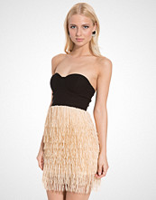 Rare London Bustier Tassel Dress