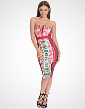Wow Couture Sweetheart Printed Bodycon