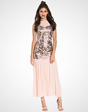 John Zack Mermaid Maxi Dress