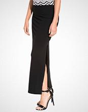 Vila Black Vihonesty New Maxi Slit Skirt