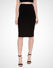 Only Svart onlABBIE Calf Skirt Noos