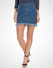 First And I FIFOME DENIM SKIRT