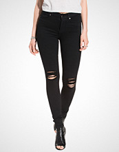 Dr.Denim Black Lexy Black Ripped Knees