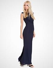 Elise Ryan Lace Back Maxi Dress
