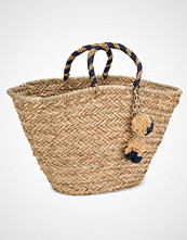 NLY Accessories Detail Straw Bag