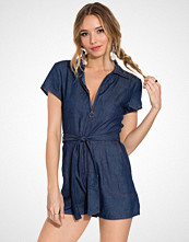 NLY Trend Blue Love Playsuit